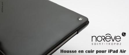 [Test] Housse en cuir Norêve pour iPad Air