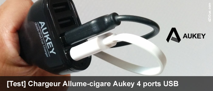 Chargeur allume-cigare Aukey