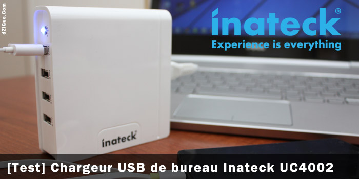 Chargeur USB bureau Inateck