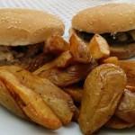 Hamburger Cantal Potatoes