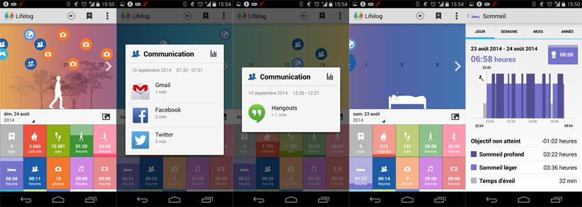 Lifelog Sony SmartBand