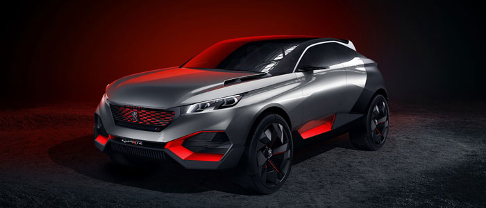 Concept-car Peugeot Quartz