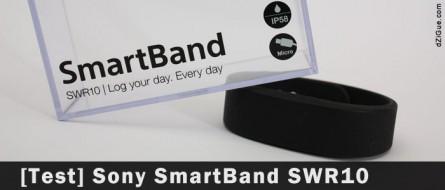 Sony Smartband, le tracker d'activité…