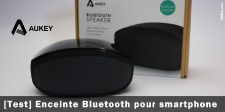 Enceinte Bluetooth pour smartphone Aukey