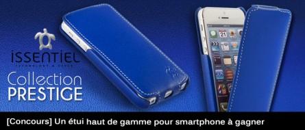 [Concours] Un étui Issentiel haut de gamme pour votre smartphone