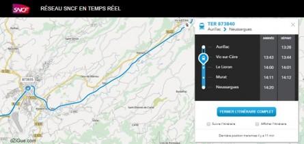 SNCF Maps : Pour localiser les trains en temps réel