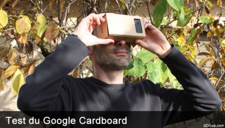 Google Cardboard : casque de réalité virtuelle en carton