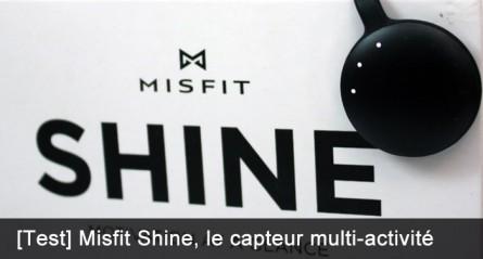 Misfit Shine, le moniteur personnel d'activité