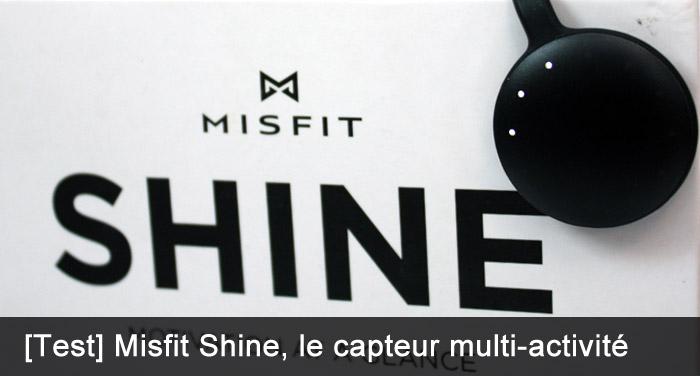 Test du Shine de Misfit