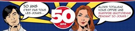 [billet sponsorisé] Les 50 ans de TOTALGAZ
