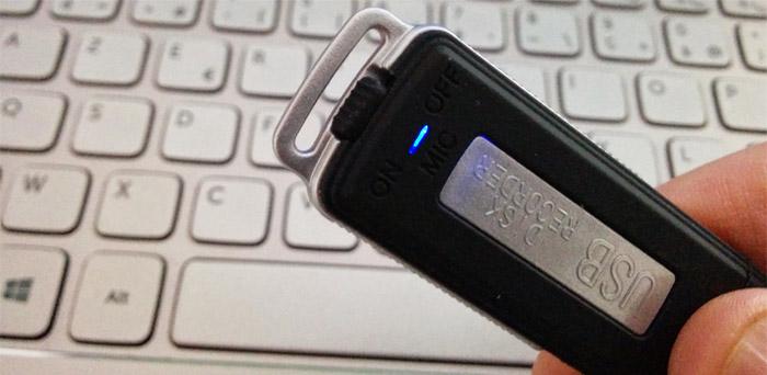 Dictaphone USB