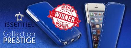Gagnant de l'étui Issentiel pour smartphone