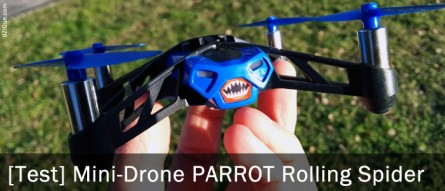 Drone Parrot : Minidrones Rolling Spider