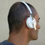 Casque SonySBH60 sur oreilles