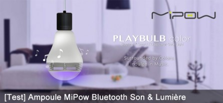 PLAYBULB une ampoule multi-color musicale