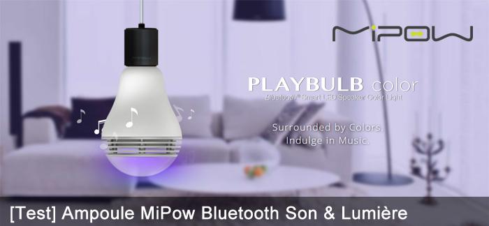 Ampoule MiPow Bluetooth SonLumiere