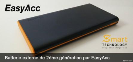 Batterie externe intelligente EasyAcc