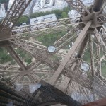 Plancher de verre Tour Eiffel