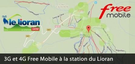 La 3G et la 4G à la station de ski du Lioran