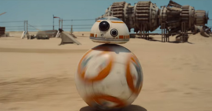 BB-8 Star Wars 7, Le réveil de la Force
