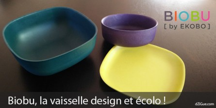 Biobu by Ekobo, la vaisselle design et écolo !