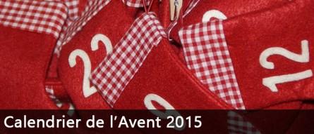 Choisir le calendrier de l'Avent 2015