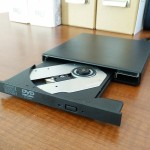 Lecteur CD externe dos