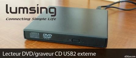 Un lecteur/graveur de CD/DVD pour mon DELL