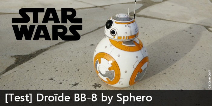 Test doïde BB-8 Star Wars