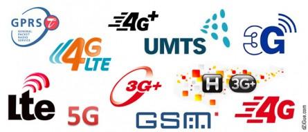 Les réseaux mobiles 2G, 3G, 4G, 4G+… 5G !