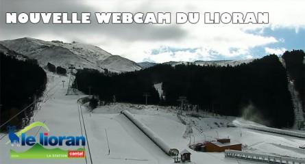 Nouvelle webcam pour la station de ski du Lioran