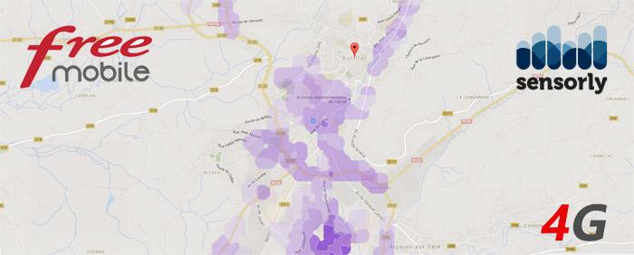 4G Free Mobile à Aurillac