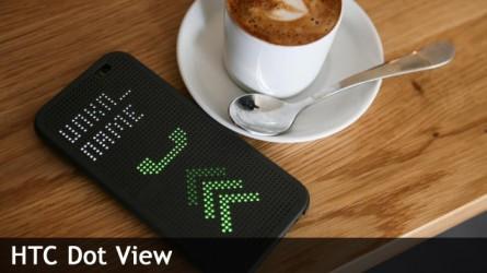 HTC Dot View, l'étui qui en fait plus !