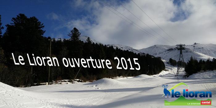Le Lioran Ouverture 2015