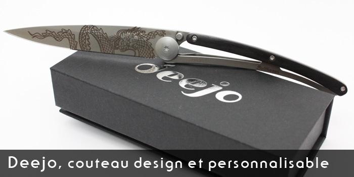 Couteau Deejo - Test et avis