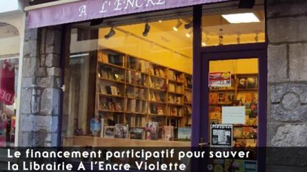 Le financement participatif pour sauver la Librairie A l'Encre Violette