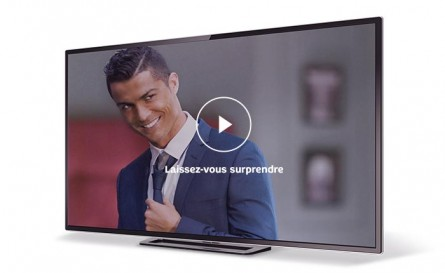 SFR BOX 4K : Cristiano Ronaldo s'est fait surprendre…