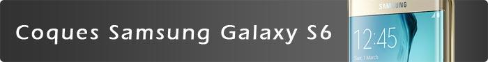 Coques Samsung Galaxy S6