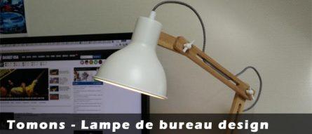 Tomons DL1001, une lampe de bureau design