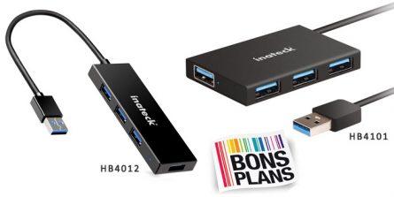 [Bon Plan] Hub Inateck USB 3.0 – 4 Ports