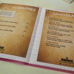 Carte gauffres et glaces reine de -brunehaut