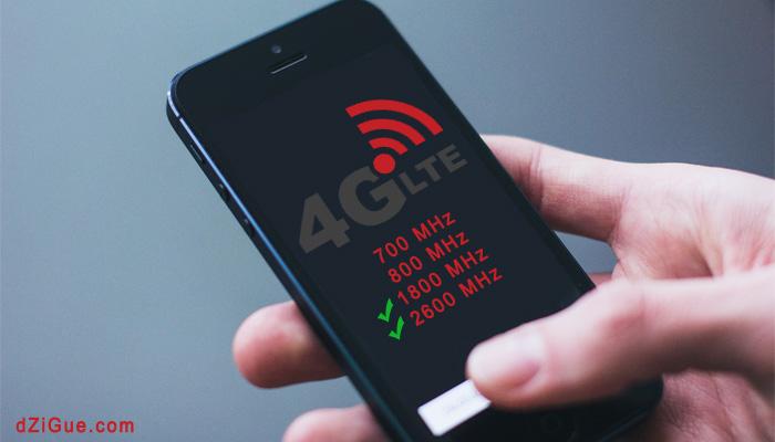 Smartphones compatibles 4G