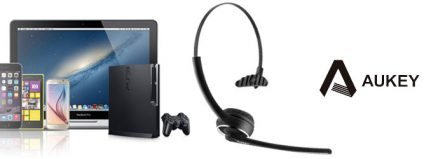 Casque téléphone Bluetooth Aukey