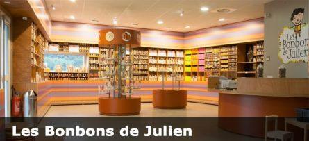 Les bonbons de Julien de Bourg-Argental