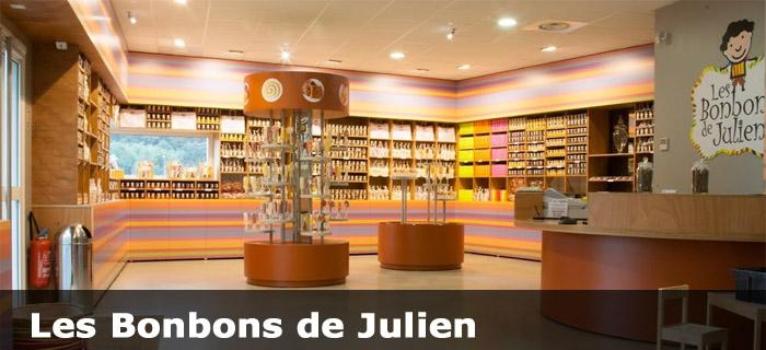 Les bonbons de Julien