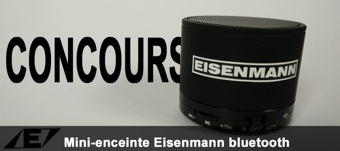 enceinte Eisenmann bluetooth