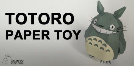 Totoro Paper Toy
