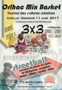 tournoi streetball Aurillac