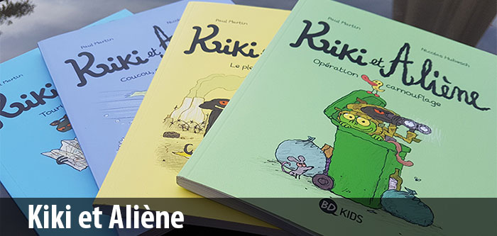 Kiki et Aliène - BD Kids