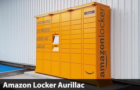Les consignes Amazon Locker arrivent à Aurillac